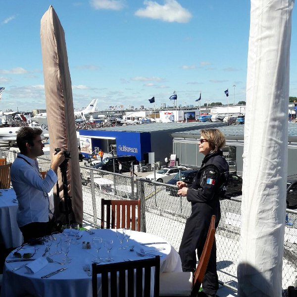 Catherine Maunoury, interview lors du salon du Bourget 2017