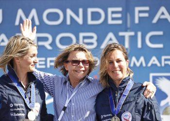 Aude Lemordant, Catherine, Bénédicte Blanchard - Chamionnat du monde 2019